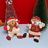 Juguete de peluche de árbol de Navidad, 4PCS / Set Lindo...