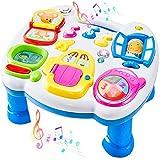 LINFUN KIDS Tavolo Multiattivita Bambini Giochi da Tavolino attività Educativi Giocattolo Regalo per Neonato Neonata 1 2 3 Anni 18 Mesi