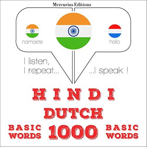 Hindi - Dutch. 1000 basic words cover art
