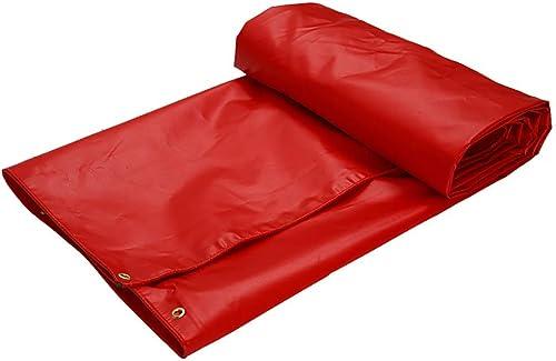 MEIDI Home Tente extérieure bache imperméable avec bache épaisse de Couverture de Camion extérieure perforée par bache épaisse (Couleur   A, Taille   6×5m)
