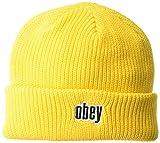 Obey Jungle Knit Beanie Uomo - giallo - Taglia unica