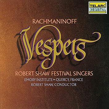Rachmaninoff: Vespers (All-Night Vigil), Op. 37