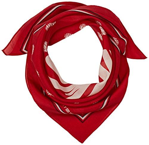 Tommy Hilfiger Dots Bandana sjaal, rood (Tommy Red 614), eenheidsmaat (fabrikantmaat: OS) voor dames
