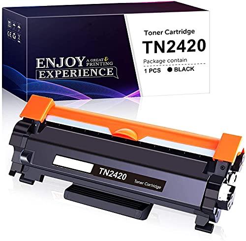 Zam-brero TN2420 Kompatibel Toner Ersatz für Brother TN2420 TN-2420 TN2410 TN-2410 für Brother MFC-L2710DW L2710DN L2750DW, HL-L2350DW L2375DW L2310D L2370DN, DCP-L2530DW L2510D L2550DN (1 Schwarz)