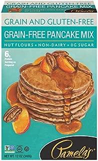 Pamela's Products Gluten Free Pancake Mix, Grain-Free, 12 Ounce
