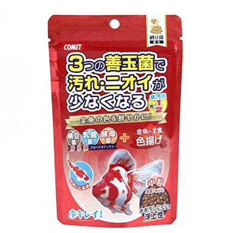 コメット 金魚の主食納豆菌 色揚げ 中粒90g