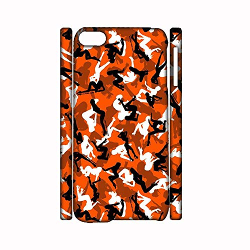 Desconocido Generic Compatible onPersonalised Printing Camo 2 Phone Shell Pc Girl Apple iPhone 7/8