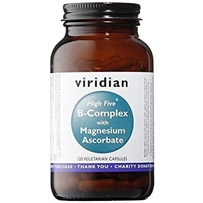 Viridian High Five B Complex with Magnesium Ascorbate x 120