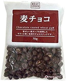 寺沢製菓 ベストチョイス 麦チョコ 70g