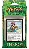Magic The Gathering (MTG Theros Intro Pack - Favors from Nyx Theme Deck (Includes 2 Booster Packs) White (Celestial Archon)