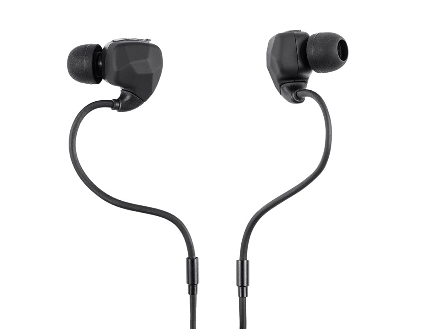 Monoprice Sweatproof Bluetooth Wireless Earbuds Headphones with IPx4 Rated, Memory Wire and Microphone