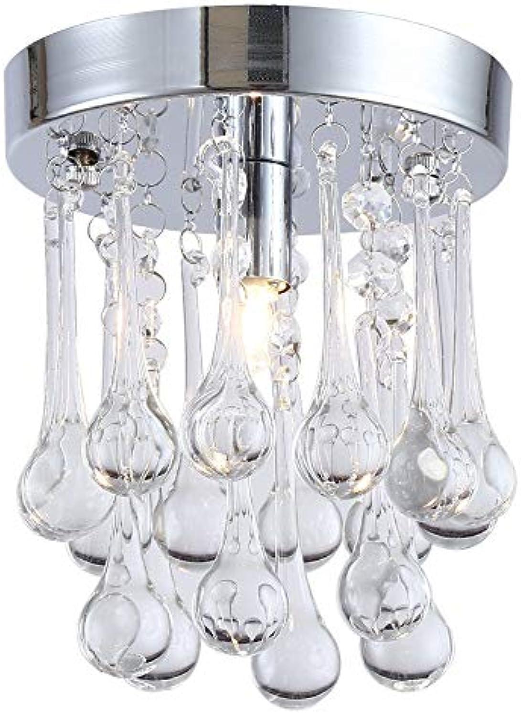 YHEGV Deckenleuchte Traumpersnlichkeit Deckenleuchte Kristall Lampe Einfache Flur Licht (150  150 MM)