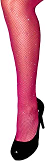 Sexy Party Crystal Mesh Stockings 2 Pairs Sparkle Rhinestone Fishnets Tights