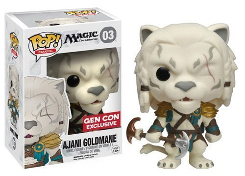 Funko Pop! Magic The Gathering Ajani Goldmane Vinyl Figure Gen Con Exclusive by Magic: the Gathering
