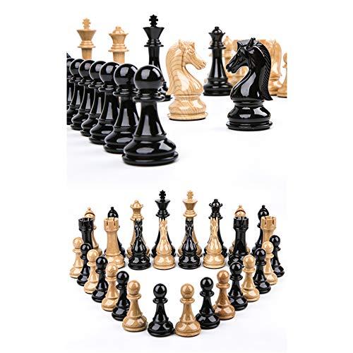 N / C Material acrílico portátil, máquina de Juego de ajedrez de Madera de 20 Pulgadas, Superficie Lisa, Mejor Comodidad, Ranura para Tarjetas incorporada Plegable