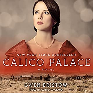 Calico Palace audiobook cover art