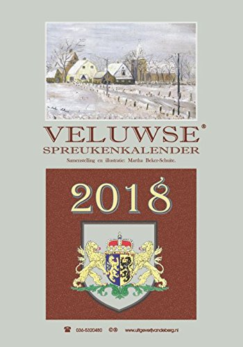 Veluwse spreukenkalender 2018
