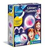 Clementoni Galileo Fun 59032 - Bolas de Goma con Purpurina, Coloridas y Brillantes para Manualidades, Caja de experimentos para el hogar, Juguetes para niños a Partir de 8 años