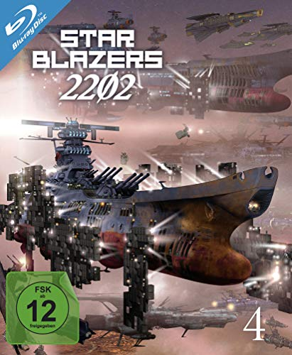 Star Blazers 2202 - Space Battleship Yamato - Vol.4 (Ep. 17-21) [Blu-ray]