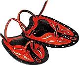 Cressi Swim Paddle Palas de natación, Negro/Rojo, Uni