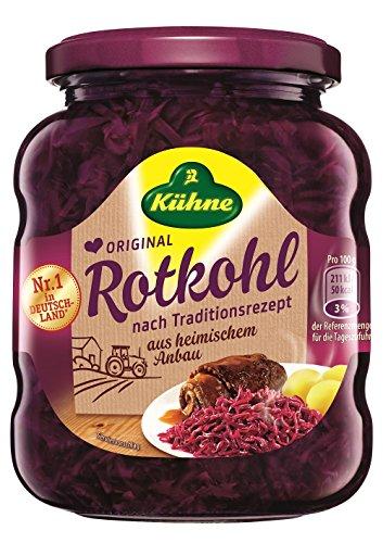 Kühne Rotkohl - Original, 12er Pack (12 x 350 g)