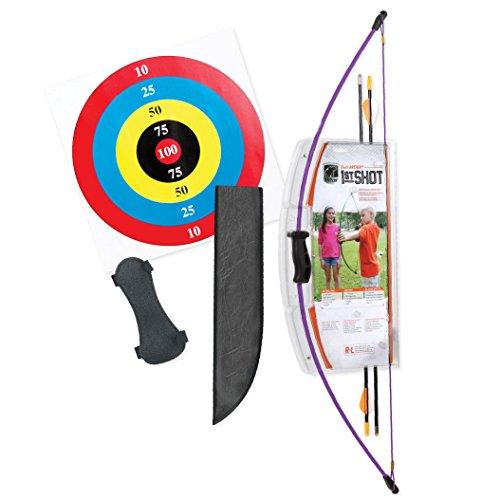 Bear Archery 1st Shot Youth Bow Set – Flo Purple