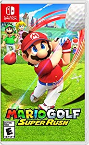A new , content-packed Mario Golf comes to the Nintendo Switch system Simple controls and an improved shot gauge make this a game for rookies and pros alike Keep the green fresh with several modes like Standard Golf, Speed Golf, story mode, and more ...