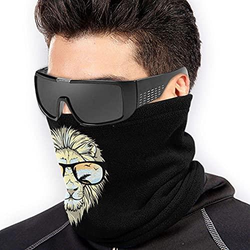 Calentador de cuello con gafas de sol de microfibra elástica para la cara media máscara tubo bufanda versatilidad bandana diadema diadema
