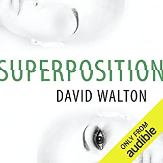 Superposition audiobook cover art