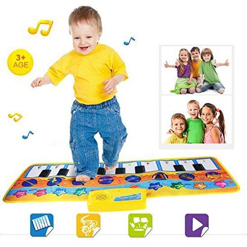 BB67 New Play Keyboard Musical Music Singing Gym Carpet Mat Best Kids Baby Gift
