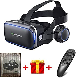 Original VR shinecon 6.0 Standard Edition and Headset Version Virtual Reality 3D VR Glasses Headset Helmets Optional Contr...