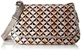 Oilily Damen Lori Geometrical Diaperbag Lhf Umhängetasche Pink (Rose)