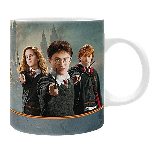Harry Potter - keramische mok - Harry Hermine Ron - Hogwarts - geschenkdoos