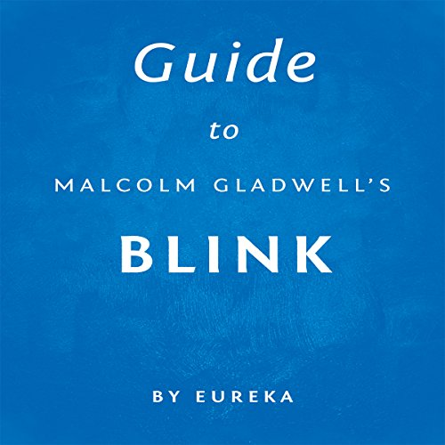 Guide to Malcolm Gladwell's Blink audiobook cover art