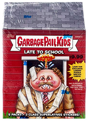 2020 Topps Garbage Pail Kids Series 1 'Late to School' BLASTER Sticker box (5 pks/bx)