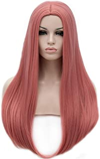 BERON 25 inches Silky Long Straight Wig Charming Women Girls Straight Wigs for Cosplay Party or Daily Use Wig Cap Included...
