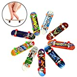SHOH Finger Skateboards Mini Diapasones Profesionales Favores De Fiesta De Juguete para Niños, Regalos, Incluye 1...