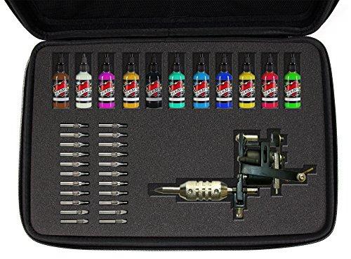 DURAGADGET Mallette Rigide de Rangement Personnalisable pour matériel de Tatouage (Aiguilles, Encre, Pistolet.)