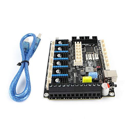 FYSETC S6 V1.2, 3D-Drucker Mainboard, 32bit, 3x Extruder/Fan, mit/ohne TFT, 180MHz (S6 V1.2 + 5 TMC2208)