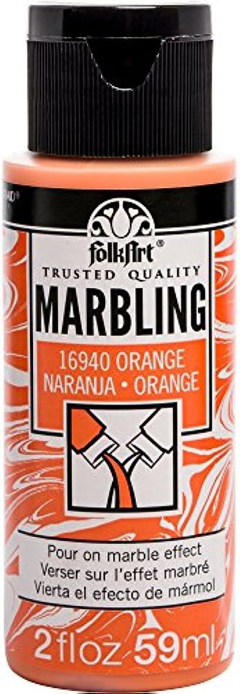FolkArt 16940 Marbling Paint, 2 oz, Orange