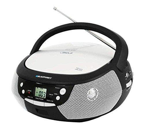 BLAUPUNKT B 3 BK Boombox mit Radio/CD/MP3-Player (ERP2, LCD-Display, Backlight) schwarz