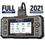 FOXWELL All System Scanner NT644E Diagnostic Scan Tool,Full System Diagnostic Scanner for Car with 19 Hot Service Reset, ABS Bleed Scan Tool,Oil Light Service Reset Tool, EPB Reset Tool with DPF/TPS