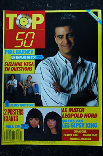 TOP 50 089 1987 11 PHIL BARNEY SUZANNE VEGA MEL KIM LEOPOLD NORD GIPSY KING