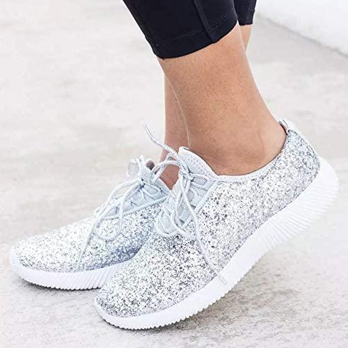 Damen Turnschuhe Damen Schuhe damen Vulcanize Schuhe Plus Größe 43 Basket Turnschuhe Damen Weiß Sliver Damen Freizeitschuhe 7.5 Silber