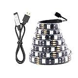 Kit de bande de lumière étanche 5M RVB5V USB LED Light Strip SMD 2835 Diode à...