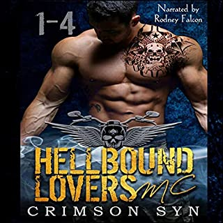 Hellbound Lovers MC, Books 1-4 cover art