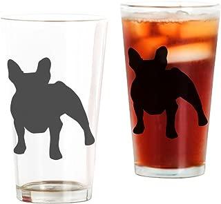 CafePress French Bulldog Pint Glass, 16 oz. Drinking Glass