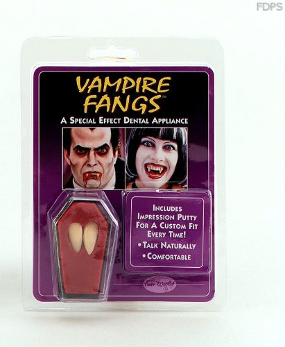 Fausse Canine Dent Vampire Dracula Accessoire Déguisement Épouvante Halloween