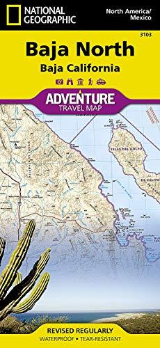 Baja California North, Mexico: Travel Maps International Adventure Map: 3103