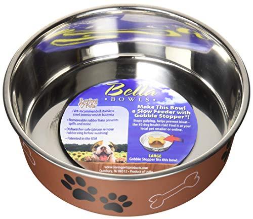 Loving Pets Gamelle en métal Bella Bowl de pour Animaux domestiques